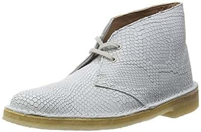 [クラークス] Clarks ブーツ デザートブーツ 26114286 Off White Snake Interest Leather (オフホワイトスネークインタレストレザー/UK 030)