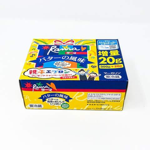 Jオイルミルズ ラーマ バターの風味 300g 【冷凍・冷蔵】 1個