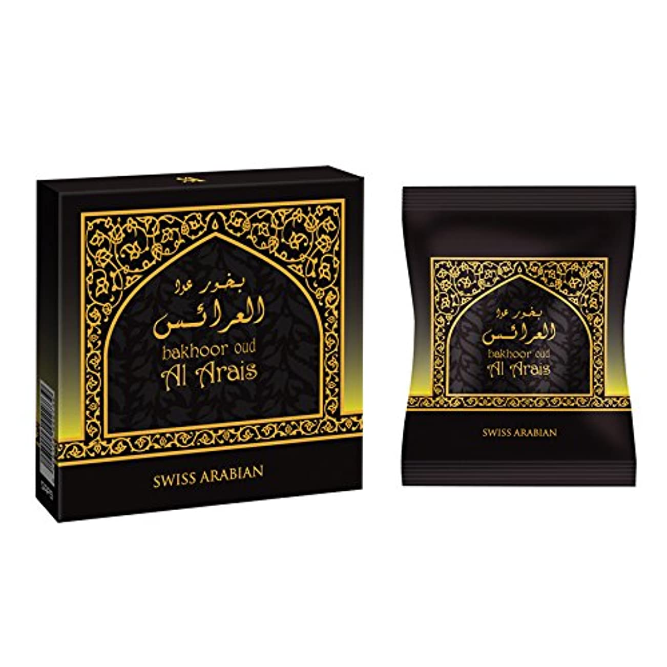 ポルティコ線取得swissarabian Oud Al Arais Bakhoor (40g) Incense
