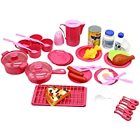 ZerboごっこMiniキッチンServing Play Food Toy Set for Kids