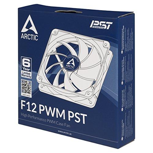 ARCTIC F12 PWM PST 53 CFM 120 mm Fan
