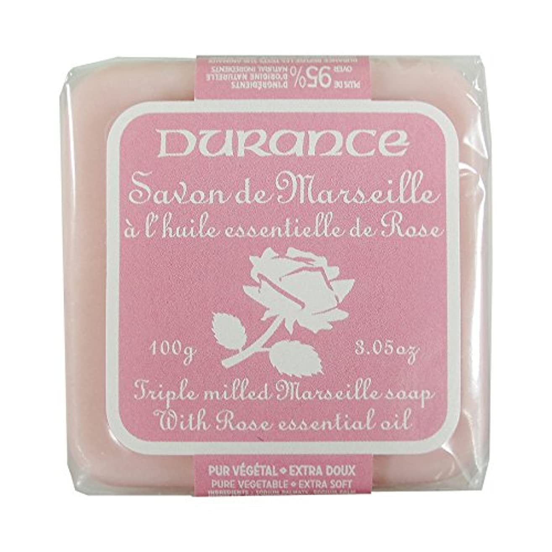 ささいなドラマお客様DURANCE(デュランス) マルセイユソープ 100g 「ローズ」 3287570405122