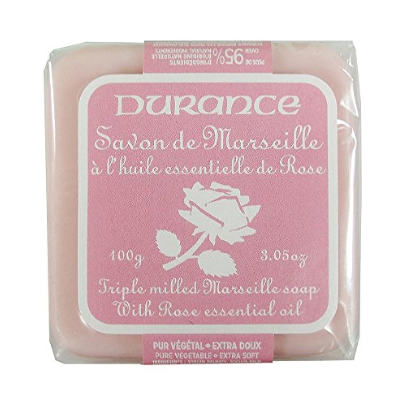 スーパーマーケット人物ステートメントDURANCE(デュランス) マルセイユソープ 100g 「ローズ」 3287570405122