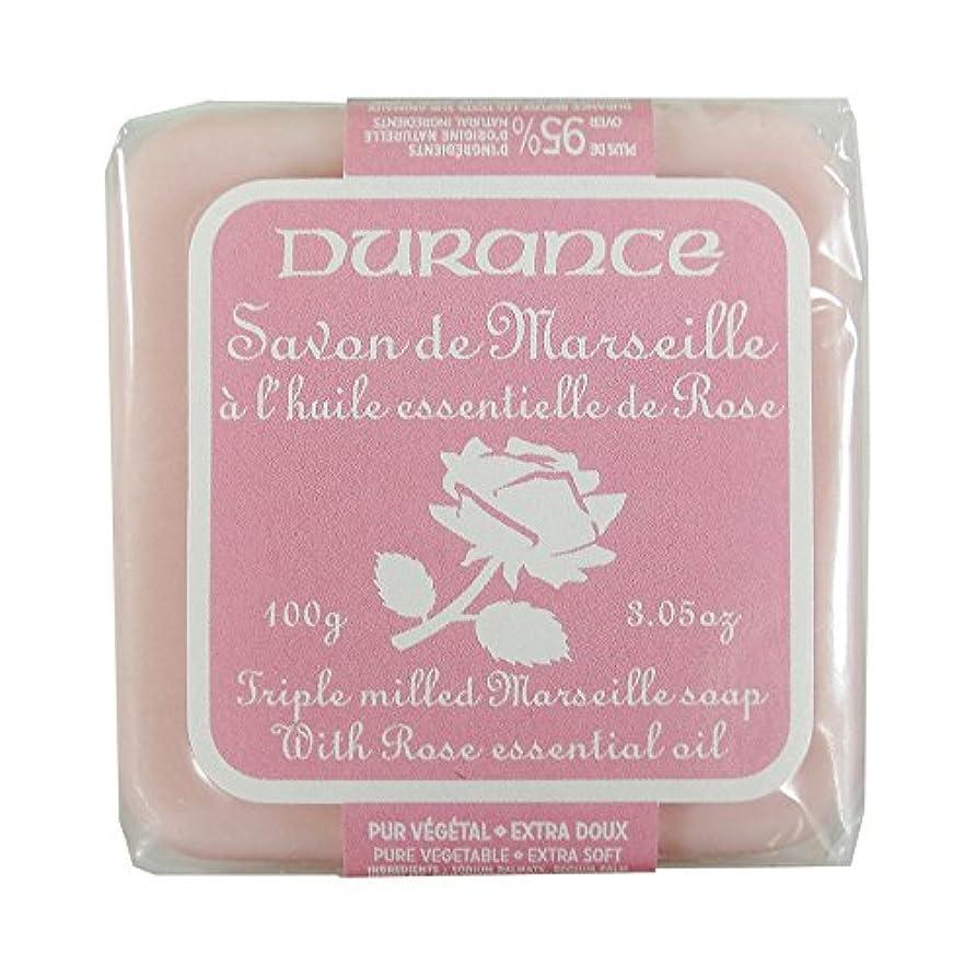 一部期限切れ祝福DURANCE(デュランス) マルセイユソープ 100g 「ローズ」 3287570405122