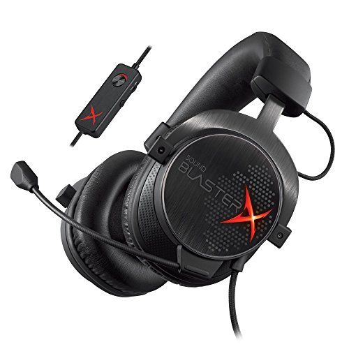Sound BlasterX H7 USB & アナログ接続 両対応 ゲーミング ヘッドセット SBX-H7