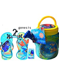 Disney Finding Dory幼児ビーチサンダルwith Finding DoryアウトドアおもちゃWatering Can Set Includes Watering Can
