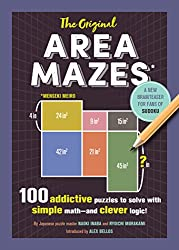 The Original Area Mazes: 100 Addictive Puzzles to Solve With Simple Math-and Clever Logic!