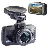 イボーン(EBORN) GPS機能付ドライバーレコーダー、170度超広角、1080P 1296P高画質、2.7インチ、駐車監視