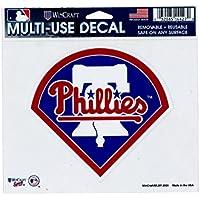 (ウィンクラフト) WINCRAFT 【MLB MULTI-USE DECAL】 (フィラデルフィア フィリーズ-PHILADELPHIA PHILLIES-) [並行輸入品]
