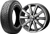 (2017年製)スタッドレスタイヤ・ホイール 1本セット 12インチ GOODYEAR(グッドイヤー) ICE NAVI(アイスナビ)CARGO  145R12 6PR + ZMA