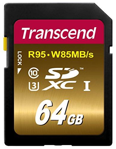 Transcend SDXCカード 64GB UHS-I U...