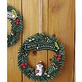 DECOLE concombre 森のクリスマスリース はりねずみ