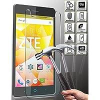 HKkais Blade E01 ZTE 専用 Glass 強化ガラス 液晶保護フィルム(硬度9H /超薄0.33mm /2.5D ラウンドエッジ加工/高鮮明 /気泡ゼロ )