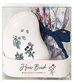 コージカンパニー ヘアブラシ 巾着 ギフトセット シャンソンドゥフィー ピンク 172110 1個+1袋