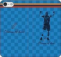 iPhone/Xperia/Galaxy/他機種選択可:バスケ/グラフィティ/へのへのもへじタッチ手帳ケース(デザイン:オクラホマシティ/0番_03) 02 iPhone5c