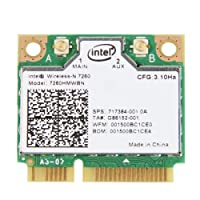 Generic Intel Wireless - N 7260 802.11bgn 2 x 2 2.4 GHz Wi - Fi + Bluetooth 4.0 802.11 B / G / Nアダプタ7260hmw BN