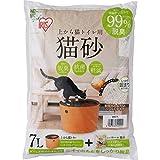 アイリスオーヤマ 上から猫トイレ用猫砂 7L