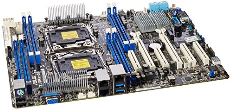 神聖寛大なデッドAsus z10 Pa-d8 (asmb8-ikvm)デュアルlga2011-v3 / Intel c612 PCH / ddr4 / sata3 & usb3 . 0 / M。2 / V & 2gbe / SSI EEDサーバーマザーボード