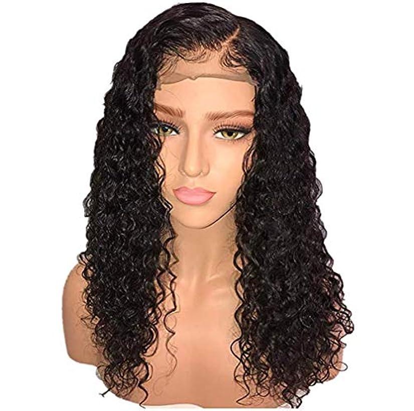 甘やかす背の高い驚かす女性かつら13 * 6レースフロントブラジル人間の髪水波ペルーバージン人間の髪調節可能なかつら赤ちゃんの髪