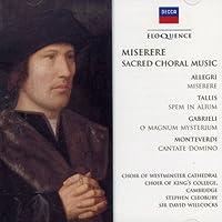 Miserere: Sacred Choral Music