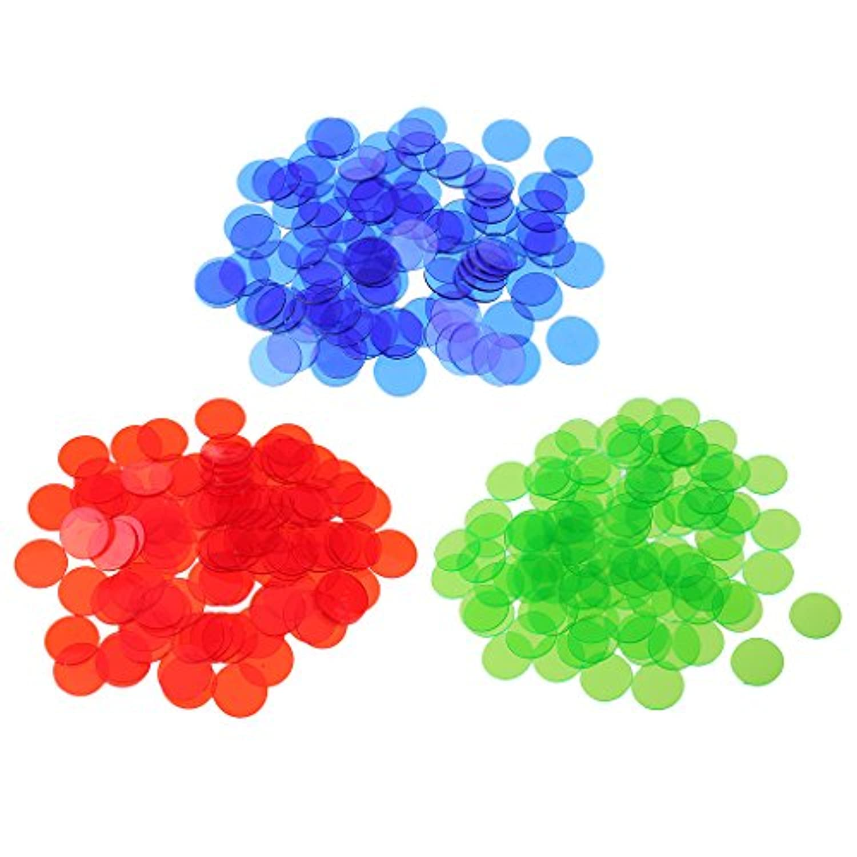 Fenteer 約300個 ビンゴチップ マーカー パーティー ビンゴゲーム用