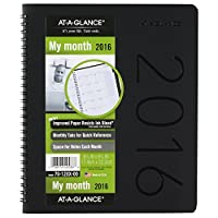 at-a-glance Monthly Planner 2016、6.88X 8.75インチ、現代、Assortedカバーデザイン–カラーMay Vary ( 70–120x -00) by at-a-glance