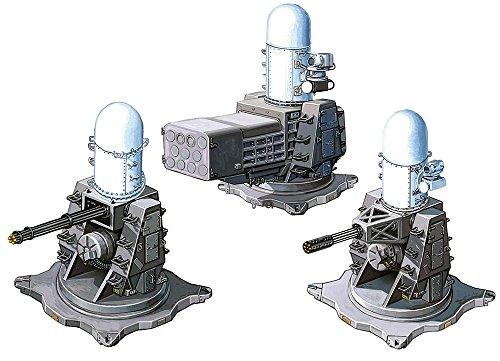ファインモールド 1/700 ナノ・ドレッドシリーズ 現用艦 近接防御火器システム/CIWS プラモデル用パーツ WA34