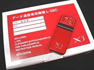 docomo Xi ( クロッシー ) 対応 データ通信端末 L-02C 標準セット品 (SIMロック未解除) レッド