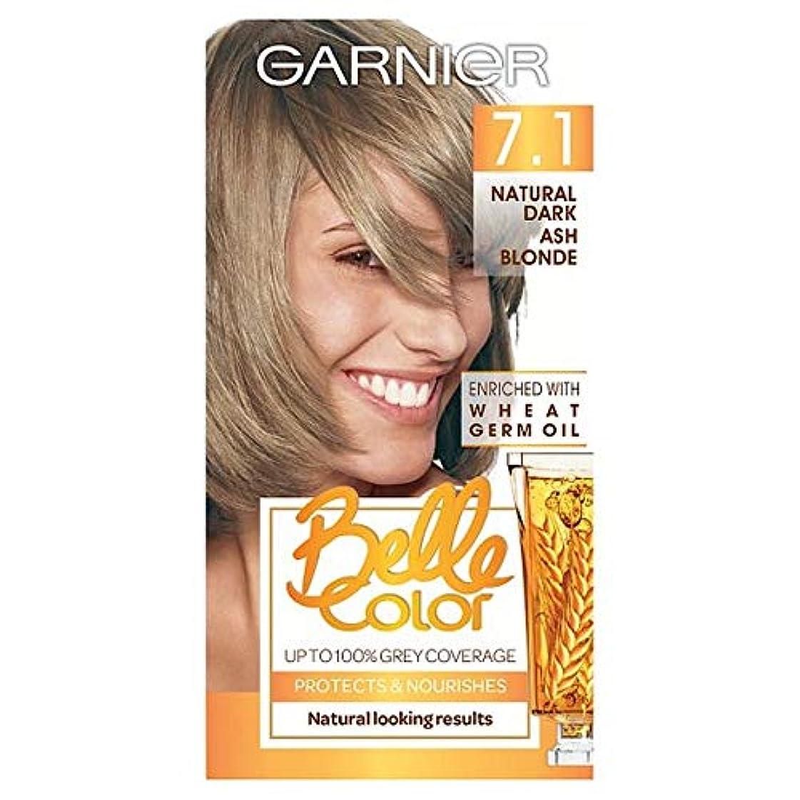 感度達成可能アラブ人[Belle Color] ガーン/ベル/Clr 7.1自然暗い灰ブロンドパーマネントヘアダイ - Garn/Bel/Clr 7.1 Natural Dark Ash Blonde Permanent Hair Dye...