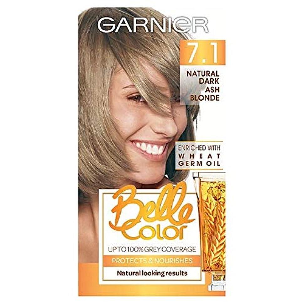 ささやき比較的ピストン[Belle Color] ガーン/ベル/Clr 7.1自然暗い灰ブロンドパーマネントヘアダイ - Garn/Bel/Clr 7.1 Natural Dark Ash Blonde Permanent Hair Dye...