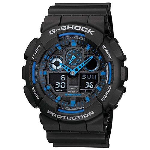 CASIO (カシオ) 腕時計 G-SHOCK(Gショック) GA-100-1A2 海外モデル  [逆輸入品]