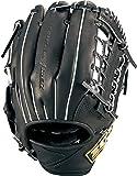 ゼット(ZETT) 少年軟式野球 グラブ ゼロワンステージ 外野手用 右投げ用 ブラック (1900) サイズL(身長140cm~向け) BJGB71040