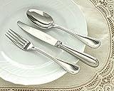クリストフル(Christofle) パール2 02 テーブルスプーン + 03 テーブルフォーク + 09 テーブルナイフ 3点セット