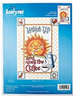 """Smell The Coffee Counted Cross Stitch Kit-9""""X13"""" (並行輸入品)"""