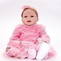 リボーンドール素敵な赤ちゃんおもちゃのシリコーンギフトおもちゃ新生児の赤ちゃんおしゃぶりのおもちゃのおもちゃ子供のおもちゃ子供の遊び人の誕生日のクリスマスプレゼント , C