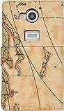 PLATA AQUOS ZETA SH-03G ケース 手帳型 ワールド デザイン ケース ポーチ 【 01 】 DSH03G-53-01