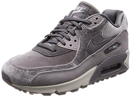 [ナイキ] スニーカー Wmns Air Max 90 LX 898512-007 Gunsmoke/Gunsmoke-Atmosphere Grey 23 cm