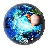 Waltz&F 直径60mm 宇宙デザイン k9クリスタル 半球 水晶 文鎮 ペーパーウェイト プレゼント 置物