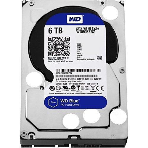 WD HDD 内蔵ハードディスク 3.5インチ 6TB WD Blue WD60EZRZ-RT SATA3.0 5400rpm 2年保証