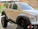 1/10スケール トヨタ タンドラ用 ゴム製オーバーフェンダー(フェンダーガード) 4個セット TB/TOYOTA TUNDRA ラジコン クローラー