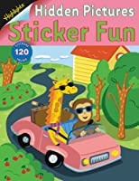 Hidden Pictures Sticker Fun #3 (Monkey) (Highlights Hidden Pictures Sticker Fun)