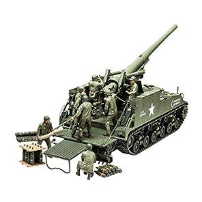 タミヤ 1/35 ミリタリーミニチュアシリーズ No.351 アメリカ 陸軍 155mm M40 自走砲 ビッグショット プラモデル 35351