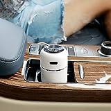 BUCNW home ミニカー小型私加湿器ホームミュートデスクトップポータブルUSB空気清浄加湿器を供給 (Color : White)