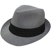 (エクサス)EXAS (大きめ61cm)マイクロ千鳥中折れハット(中折れ帽 中折れ帽子)