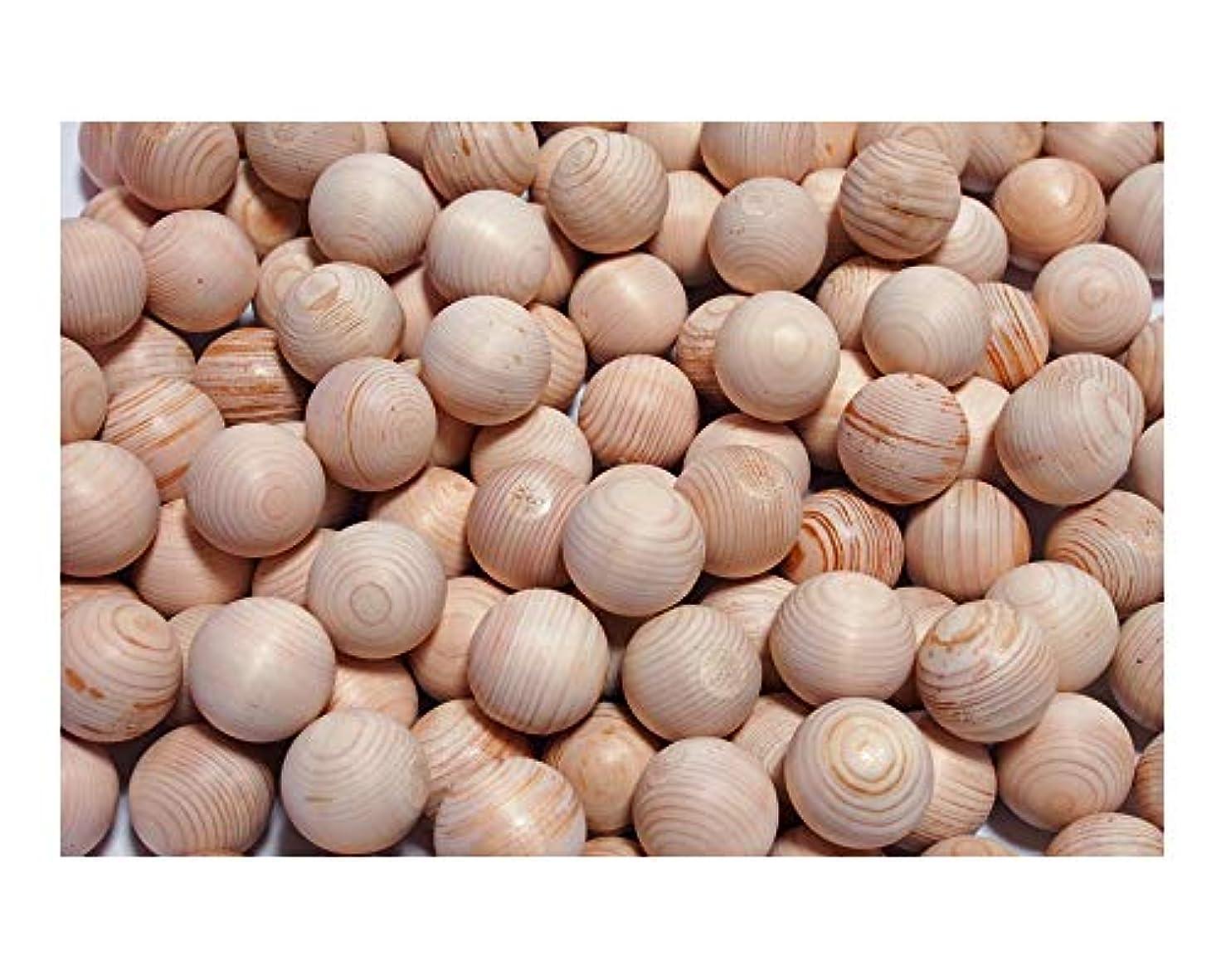 士気サンダル穀物桧 湯玉 直径35mm 500個セット