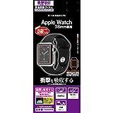 ラスタバナナ Apple Watch 38mm 衝撃吸収反射防止フィルム 2枚入り  JT650AW38