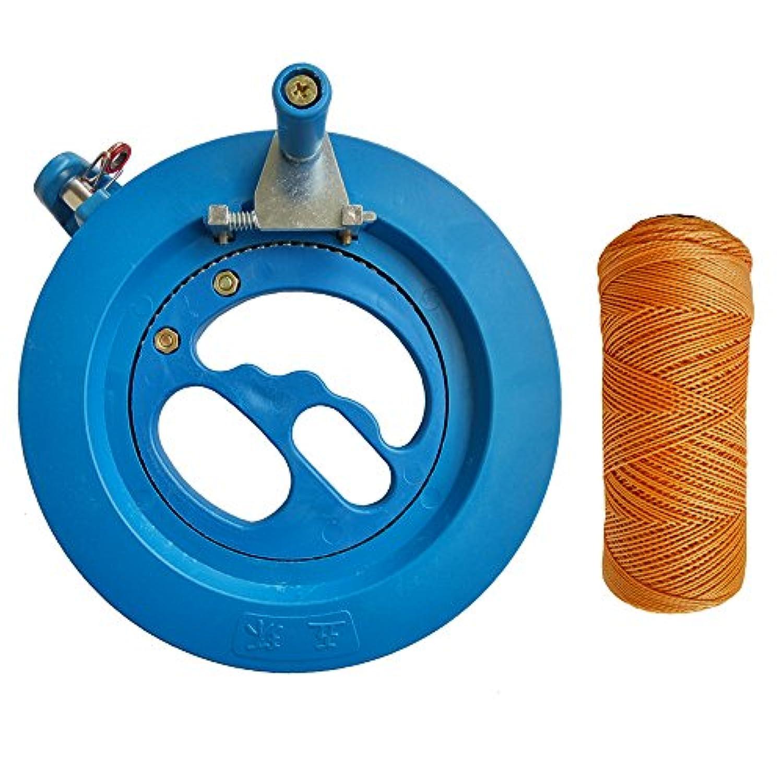 wishaveプロフェッショナルKite String Winder 16 cm ( Dia )スムーズ回転ボール軸受Windingリールグリップホイール150 MタイヤラインFlyingツールアクセサリー 16CM