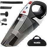 Welikera 掃除機 充電式掃除機 ハンディ/乾湿両用クリーナー コードレス 家/車クリーナー 35分間連続稼働