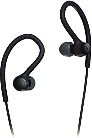 Audio-Technica ATH-SPORT10 SonicSport In-Ear Wired Headphones, Black, One Size