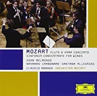 Mozart: Sinfonia Concertante For Winds; Flute & Harp Concerto by Orchestra Mozart (2012-01-10)